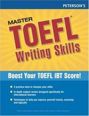 Master the TOEFL Writing Skills, 1st ed