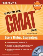 Cover of: Master the GMAT, 2008/e, w/CD (Master the Gmat)