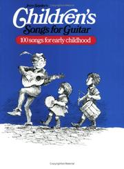 Cover of: Children's Songs for Guitar