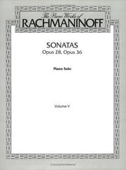 Cover of: Rachmaninoff Sonatas