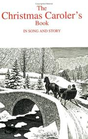 Christmas Carolers Book In Song & Story