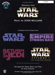 Cover of: Star Wars / Solos, Duets, & Trios / Bb Book (Star Wars) | John Williams