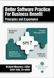 Better Software Practice for Business Benefit by