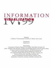 Cover of: 1999 IEEE International Conference on Information Visualization