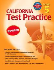 Cover of: California Test Practice, Grade 5 | Vincent Douglas