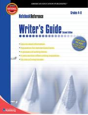 Cover of: Notebook Reference Writer