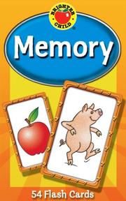 Memory Game Cards (Brighter Child Flash Cards)