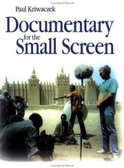 Cover of: Documentary for the small screen