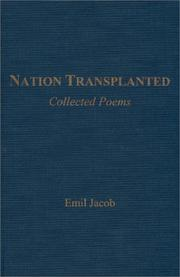 Cover of: Nation transplanted