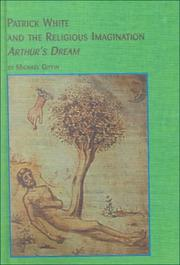 Cover of: Patrick White and the religious imagination