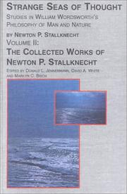 Strange seas of thought by Newton Phelps Stallknecht