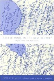 Cover of: Harold Innis in the New Century |