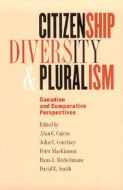 Cover of: Citizenship, Diversity, and Pluralism |