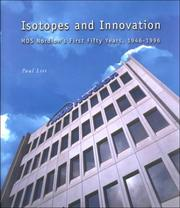 Cover of: Isotopes and innovation