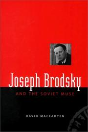 Cover of: Joseph Brodsky & the Soviet Muse