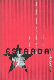 Cover of: Estrada: Grand Narratives and the Philosophy of the Russian Popular Song Since Perestroika