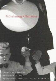 Cover of: Governing Charities | Paula Maurutto