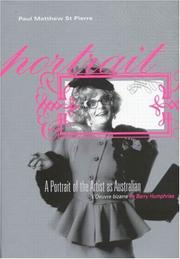 Cover of: A portrait of the artist as Australian | St. Pierre, Paul Matthew.