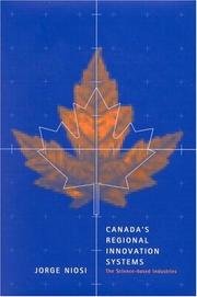 Cover of: Canada's Regional Innovation System: The Science-based Industries