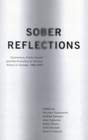 Cover of: Sober Reflections |