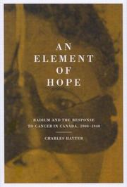 Cover of: An Element Of Hope | Charles Hayter