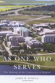 Cover of: As One Who Serves