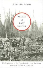 Cover of: Places of Last Resort | J. David Wood