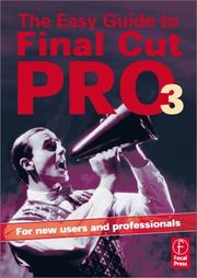Cover of: The Easy Guide to Final Cut Pro 3 | Rick Young