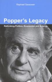 Cover of: Popper's Legacy