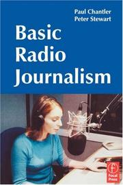 Cover of: Basic radio journalism