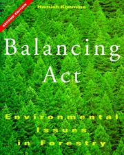Cover of: Balancing act