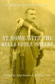 Cover of: At Home With the Bella Coola Indians |