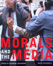 Cover of: Morals And the Media | Nick Russell