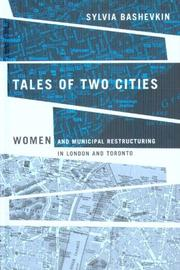 Tales of Two Cities by Sylvia Bashevkin