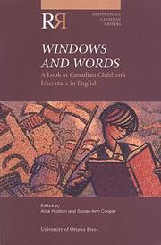 Cover of: Windows and Words: A Look at Canadian Children