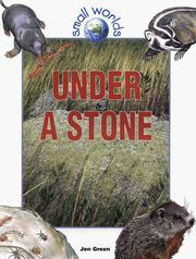 Cover of: Under a stone