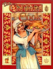Cover of: The Colonial Cook (Colonial People)