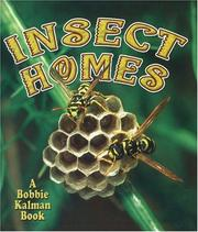 Cover of: Insect homes