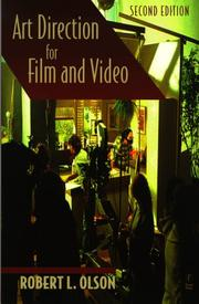 Cover of: Art direction for film and video