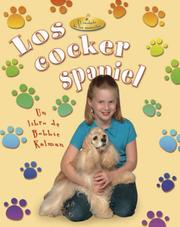 Cover of: Los cocker spaniel