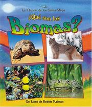 Cover of: Que Son Los Biomas?/ What is a biome?