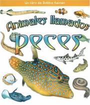 Cover of: Animales llamados peces