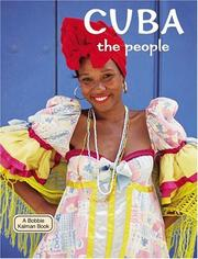 Cover of: Cuba - The People (Lands, Peoples, and Cultures) | Susan Hughes