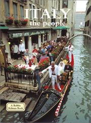 Cover of: Italy - the People (Lands, Peoples, and Cultures) | Greg Nickles