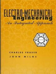 Cover of: Electromechanical engineering