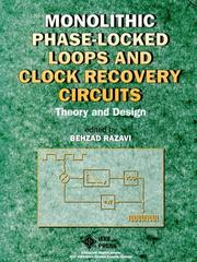 Cover of: Monolithic phase-locked loops and clock recovery circuits |