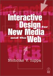Cover of: Interactive Design for New Media and the Web | Nicholas Iuppa