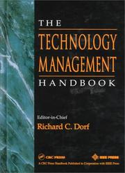 Cover of: The Technology Management Handbook | Dorf, Richard C.