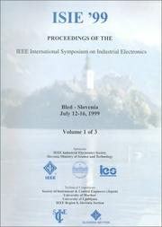 Cover of: ISIE '99