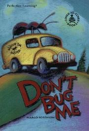 Cover of: Don't Bug Me (Cover-to-Cover Novels: Humor)